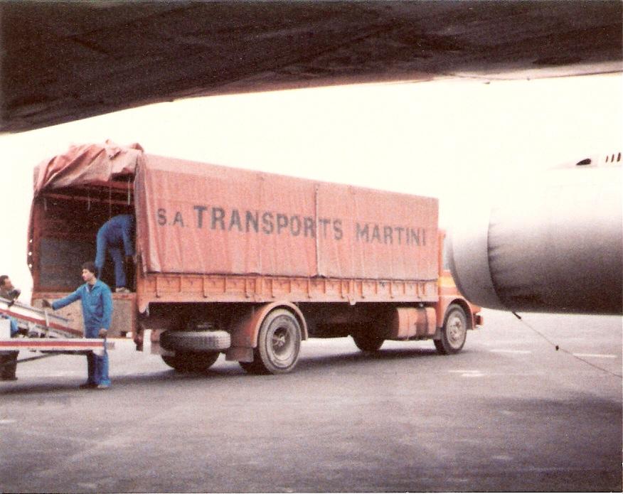 Aéroport Camion Orange