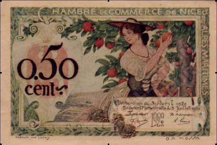Billet 50 cents