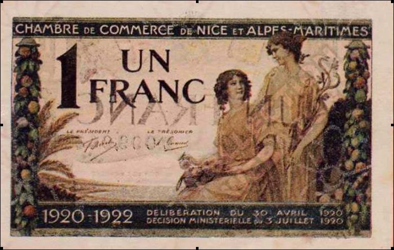 Billet 1 franc