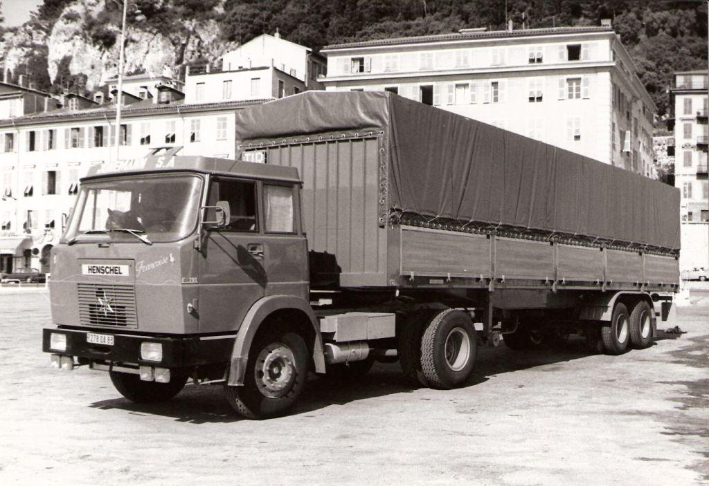 Camion de Jean-Pierre sillonnant toute l'Europe (souvent affrêté par nos amis Jonnemann)