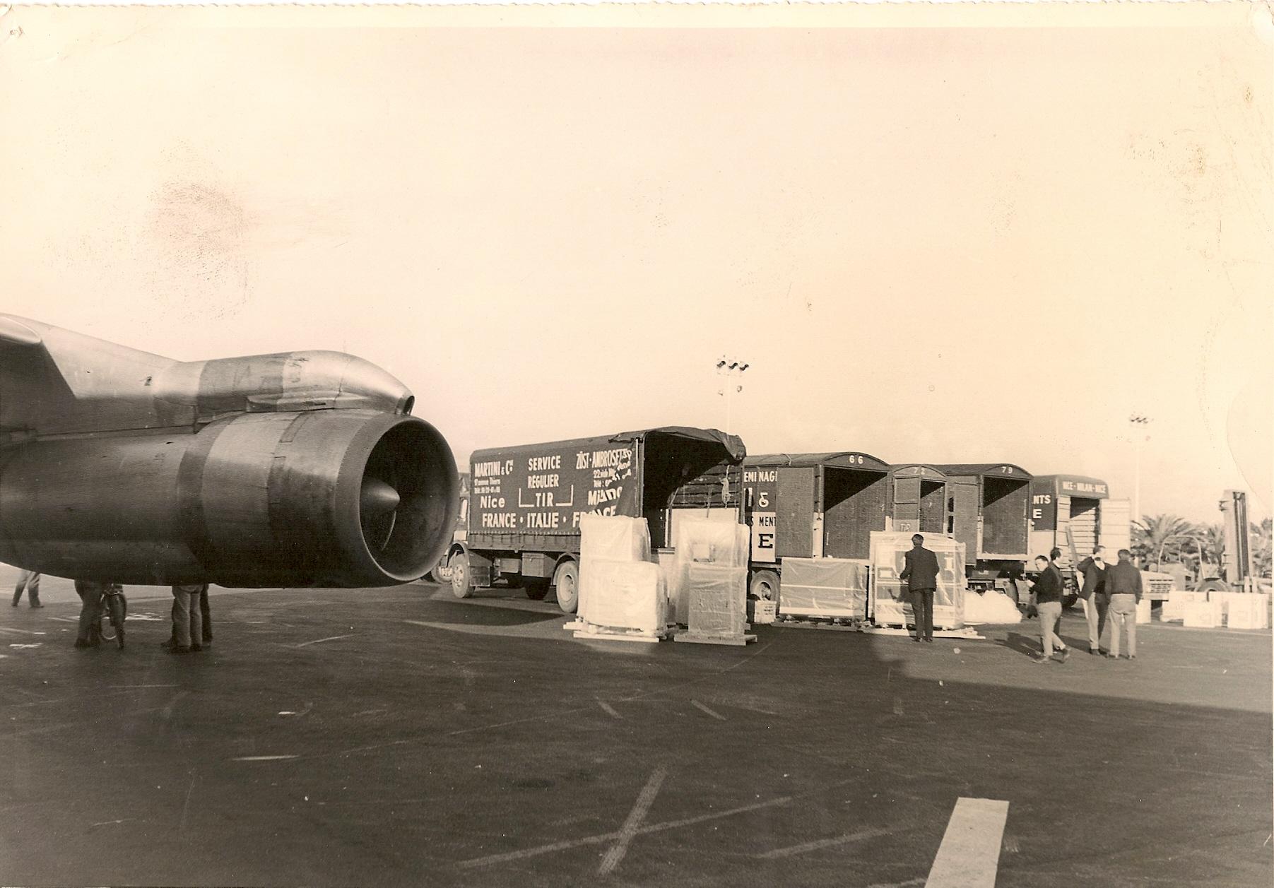 Chargement de la Pan Am