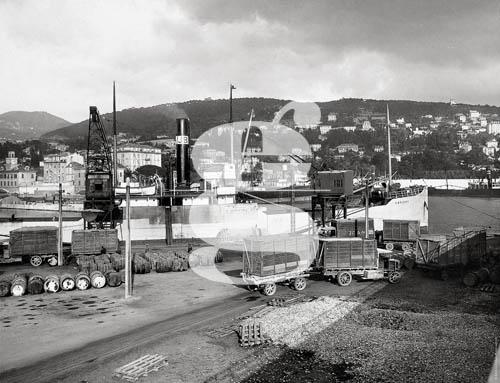 Photo Nice-Matin déchargement au port de Nice