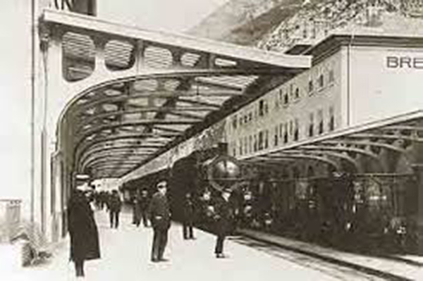 Quai Gare de Breil sur Roya