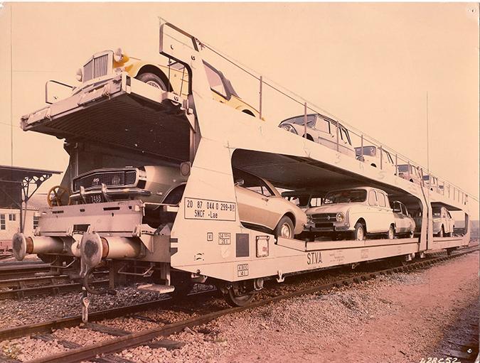wagons de la STVA